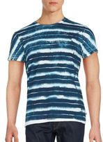 Sol Angeles Cotton Tie-Dye Print Tee