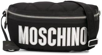 Moschino Large Logo Belt Bag