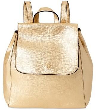 Karma Purse Backpack, Gold