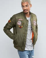 Juice Bomber Jacket With Patches