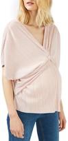 Topshop Women's Twist Front Maternity Top