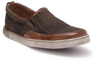 Bed Stu Bed|Stu Carp Leather Slip-On Sneaker