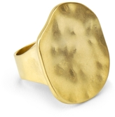 Gold Ring w/ Hammered Detail