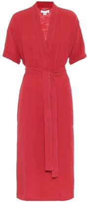 Velvet Kerry cotton midi dress