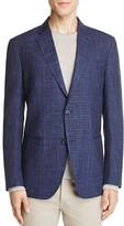 0909 Tonal Plaid Slim Fit Sport Coat