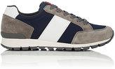 Prada Men's Mixed-Material Sneakers