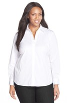 Lafayette 148 New York Plus Size Women's 'Katie' Blouse