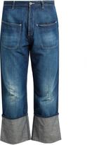 Loewe Fisherman distressed jeans