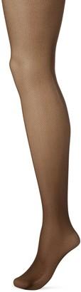 Hanes Women's Perfect Nudes Micro-Net Control Top Pantyhose