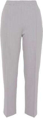 Joseph Cropped Wool-blend Twill Straight-leg Pants