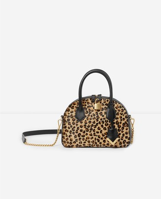 The Kooples Medium leopard-print bag Irina