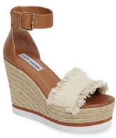 Steve Madden Women's Valley Fringed Platform Wedge Sandal