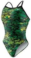 Nike Swim Onyx Storm Lingerie Tank One Piece Swimsuit 48170