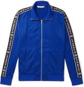 Givenchy - Logo-Jacquard Fleece-Back Tech-Jersey Track Jacket