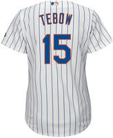 Majestic Women's Tim Tebow New York Mets Cool Base Player Replica Jersey