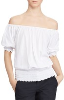 Lauren Ralph Lauren Off-the-Shoulder Top
