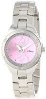 EWatchFactory Disney Women's W000488 Minnie Mouse Stainless Steel Bracelet Watch