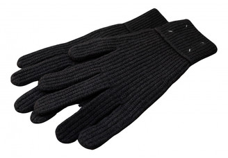 Maison Margiela Grey Wool Gloves