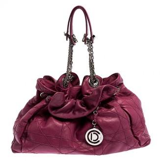 Christian Dior Le Trente Pink Leather Handbags