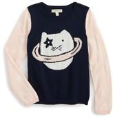 Tucker + Tate Toddler Girl's Pattern Mix Sweater