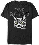 Fifth Sun Tee Shirts BLACK - Pet Sematary Black 'Sometimes Dead Is Better' Cat Tee - Adult