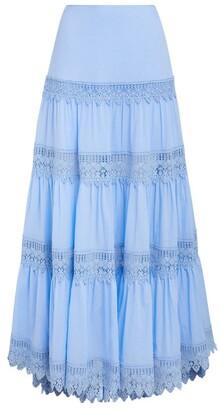 Charo Ruiz Ibiza Lace-Detail Ruth Skirt