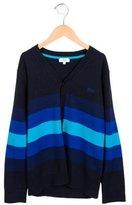 HUGO BOSS Boys' Knit Striped Cardigan