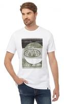 Animal White Graphic Print T-shirt