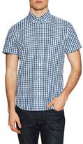 Slate & Stone Cotton Checkered Short Sleeve Sportshirt