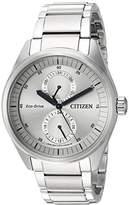 Citizen Men's 'Dress' Quartz Stainless Steel Casual Watch