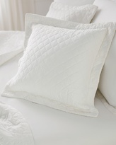 Soma Intimates Luxe Quilted Pillow Sham Ivory