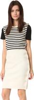 Maison Margiela Striped Sweater Dress