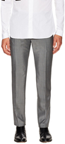 Balenciaga Solid Flat Front Trousers