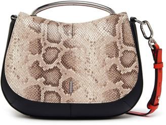 THACKER Nola Leather Shoulder Bag