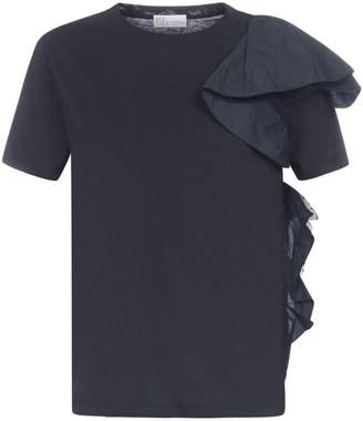 RED Valentino Ruffle Detail T-Shirt