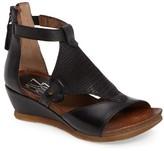 Miz Mooz Women's Maisie Wedge Sandal