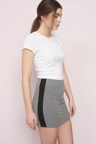 Garage Sport Panel Bodycon Skirt