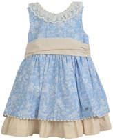 Dolce Petit Blue Beige Dress