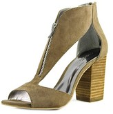 Carlos by Carlos Santana Jury Open-toe Canvas Heels.