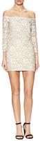Endless Rose Lace Off Shoulder Mini Dress