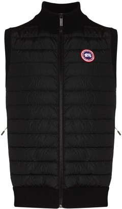 Canada Goose Hybridge high-neck padded gilet