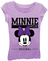Freeze Lavender Retro Minnie Mouse 'Original' Tee - Girls
