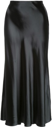 The Row A-line midi skirt