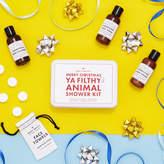 Men's Society 'Merry Christmas Ya Filthy Animal' Shower Kit