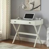 Kennedy Campaign Writing Desk Carolina Cottage Finish: Antique White