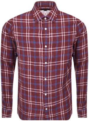 Michael Kors Check Shirt Red
