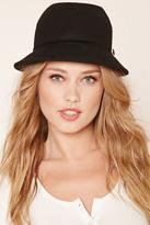 Forever 21 FOREVER 21+ Woven Felt Cloche Hat