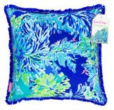 Lilly Pulitzer Wade And Sea Throw Pillow