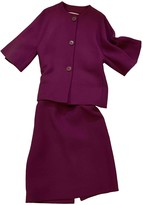 Christian Dior Purple Wool Jacket for Women