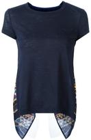Sacai Draped Back T-Shirt